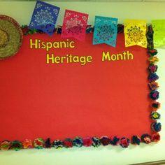 bulletin board ideas for hispanic heritage month - Google Search