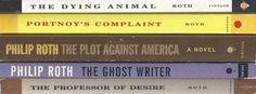 Philip Roth X5 lot Plot America Dying Animal Ghost Writer Portnoy's Complaint