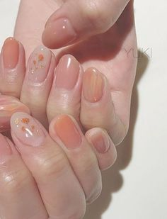 In search for some nail designs and some ideas for your nails? Listed here is our listing of must-try coffin acrylic nails for modern women. Nail Art Cute, Cute Nails, Pretty Nails, Essie, Korean Nails, Asian Nails, Korean Nail Art, Nagellack Trends, Colorful Nail