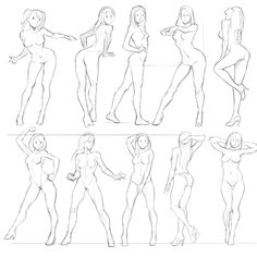 Trilling Exercises To Get Better At Drawing Ideas. Astounding Exercises To Get Better At Drawing Ideas. Anatomy Sketches, Body Sketches, Anatomy Drawing, Art Sketches, Art Drawings, Female Drawing, Body Drawing, Character Drawing, Life Drawing