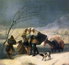 Winter - (Francisco De Goya)