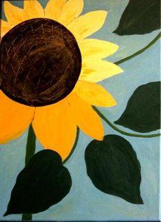 Rosa Haslbeck auf KUSELVER, Sonnenblume