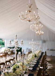 Elegant Tented North Carolina Wedding - MODwedding