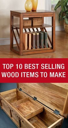 Top 10 Best Selling Wood Items To Make: http://www.mywoodworking.org/top-10-best-selling-wood-items-make/