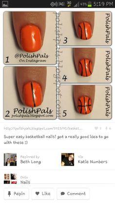 Basketball nails!