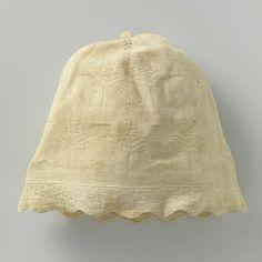 Slaapmuts, anoniem, ca. 1808 - Rijksmuseum