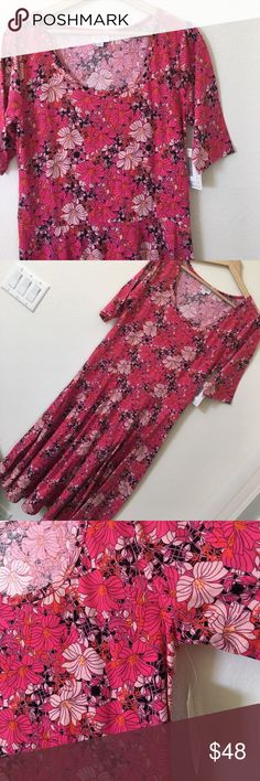 Long dress lularoe return