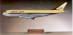 Early 747 study from the Boeing collection