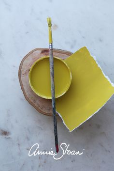 The Vibrant and Fun Paint Colour, English Yellow by Annie Sloan