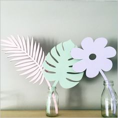 Image of Birch plywood painted fern leaf Lazer Cut Wood, Diy Paper, Paper Crafts, Wood Crafts, Diy And Crafts, Cnc Cutting Design, Laser Art, Wooden Flowers, Simple Furniture