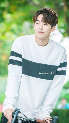 My shining star 💕 Kim Joo Hyuk, Nam Joo Hyuk Cute, Nam Joo Hyuk Lee Sung Kyung, Most Handsome Korean Actors, Nam Joo Hyuk Wallpaper, Nam Joo Hyuk Lockscreen, Joon Hyung, K Pop, Park Bogum