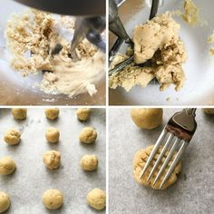 Almond Flour Shortbread Cookies - Flourish - King Arthur Flour: These almond flour shortbread cookies are one of the easiest recipes you could ever make. Just 5 ingredients, one bowl and less than 10 minutes to bake. Sugarless Cookies, Almond Flour Cookies, Almond Flour Recipes, Shortbread Cookies, Cookies Et Biscuits, Low Carb Sweets, Low Carb Desserts, Healthier Desserts, Healthy Meals