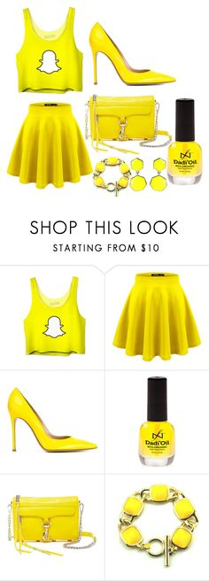 """Snapchat Costume"" by lauren53103 on Polyvore featuring Gianvito Rossi, Rebecca Minkoff, Amrita Singh, Costume and snapChat"