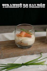 'Tiramisú' de salmón | Cocina