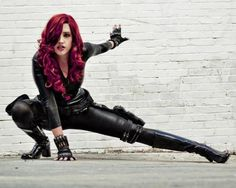 Character: Black Widow / From: MARVEL Comics 'Avengers' / Cosplayer: Leah Burroughs (aka Callie Cosplay)