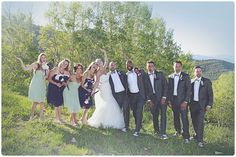 Park City Wedding photographer | Lookout Cabin Canyon Resort | harvest moon events | photo by Bacio Photography