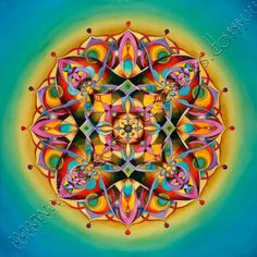 """Power"" - Throat Chakra Mandala - important to express authentically in relationships"