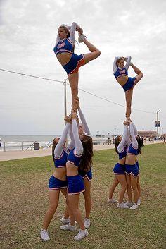 UF Competitive Cheer Squad - Orange Team by David Arran Photography, via Flickr #KyFun kcwftp