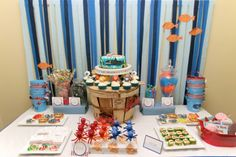 Ocean Party - crate barrel stand