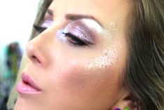 Tutorial de Maquiagem para Carnaval. Linda, Romântica com muito Glitter 12