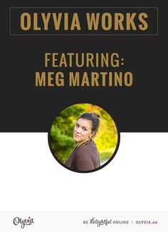 An inspiring interview with photographer and WAHM Meg Martino, on Olyvia.co. #business #feature #behindthescenes