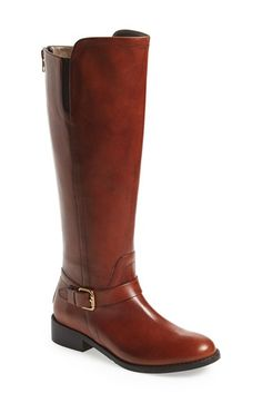 Free shipping and returns on BELLA VITA Tall Riding Boot (Women) at Nordstrom.com. An Italian-crafted riding boot cut from smooth, hand-burnished leather is wrapped with a slender belt at the base of the shaft and features dual elastic insets at the calf for a fit that moves with you. An exposed, full-length back zip closure looks chic and makes the style easy to put on and take off.