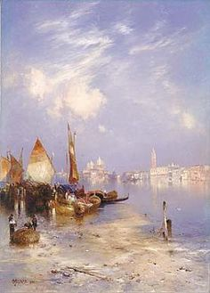 A View of Venice by Thomas Moran (watercolor) / American Art at the Smithsonian