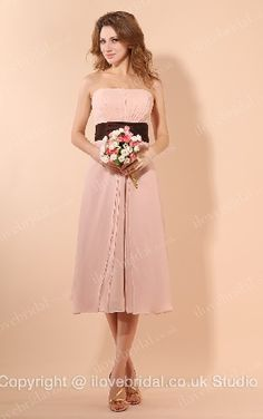 #Bridesmaid #Dress With Empire Waist