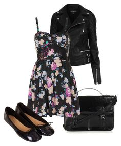 """""""Untitled #345"""" by bamilliana on Polyvore featuring Topshop"""