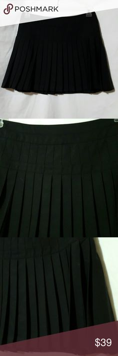 ❤NWOT Playful Valentine bebe pleated skirt ❤NWOT❤ bebe Playful💌 little mini skirt with unique pleats, Hidden side hook-and-eye and zip enclosure, fully lined.   95% polyester, 5% spandex.  Dry clean only.  Waist 27' length 15'  Please ask any and all questions before purchasing this item bebe Skirts Mini