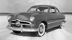 The '49 Ford was the first new design to be introduced after World War II. It ushered in a new era i... - Ford Motor Company