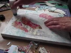 How to - mixed media canvas part 2