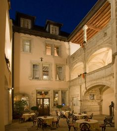 Hotel Le Cep in Beaune—On Travel + Leisure's 500 Best Hotels list for three years. Stay here for 2 nights when you travel in with VBT. Top 10 Hotels, Best Hotels, Places Ive Been, Places To Go, Medieval Town, Travel And Leisure, Traveling By Yourself, Burgundy, Tower