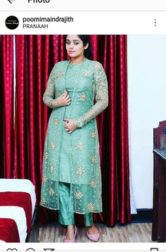 Best 12 Churidar models – Page 294774738108800288 – SkillOfKing. Indian Gowns Dresses, Indian Fashion Dresses, Dress Indian Style, Indian Designer Outfits, Designer Dresses, Indian Wear, Saree Blouse Neck Designs, Kurta Neck Design, Dress Neck Designs