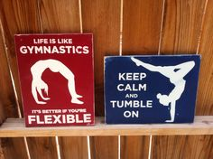 8x12 Gymnastic Signs by WrightAwayDesigns on Etsy, $19.00