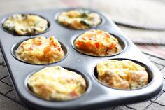 Friendly Breakfast Eggy Cups! Great idea to feed all the kids quick and easy! Try combo #1 recipe with asparagus!