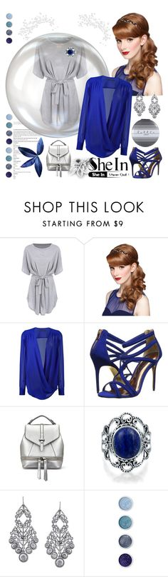 """Shein"" by irinavsl ❤ liked on Polyvore featuring Ermanno Scervino, Ted Baker, Bling Jewelry, 1928 and Terre Mère"