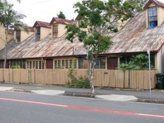 Terraced workers cottages in Spring Hill, Brisbane