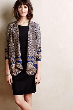Mosaic Tulip Blazer. An addition to the unconventional blazer collection. Adding to my wishlist!