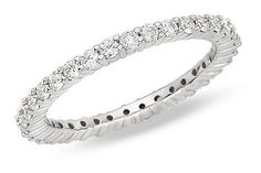 This is exactly what I want...something delicate and dainty to replace my wedding band.   Eternity Band