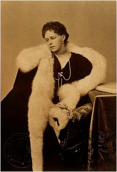 """Crown Princess Marie """"Missy"""" of Romania (future Queen consort) ( ca late I've see many dramatic photos of Missy, but I think this one takes the. Romanian Royal Family, Greek Royal Family, Queen Mother, Queen Mary, Princess Victoria, Queen Victoria, Gabriel, Reine Victoria, Dramatic Photos"""