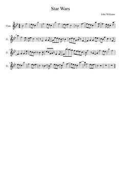 Sheet music made by Lancetheturtle for Flute