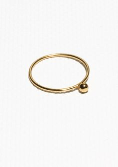 & Other Stories | Gold-Plated Sterling Silver Ring