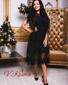 1eaed9b1f377dd1 Платье Мод: Н-340 Размер: С и М Цвета: 🖤 чёрный, ❤ красный,💙 электрик, 💛  беж Пышное роскошное платье, выполнено из французского кружева ресничка на  ...