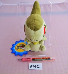 Pokemon Center Axew Milza Coupenotte Plush Doll.with the bonus item From Japan…