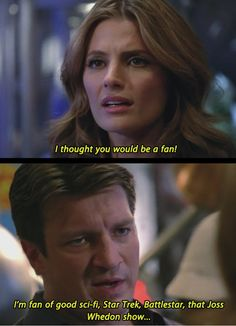 I see what you did there, Nathan Fillion…