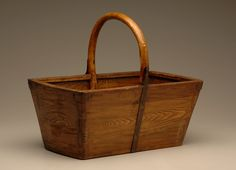 Wooden Basket Should you want to learn about wood working methods, try out http://www.woodesigner.net