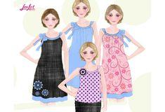 Letnja haljina  - izrada kroja  i šivenje letnje haljine.