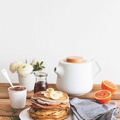 Доброе утро! ✨ Ловите рецепт самых быстрых и очень вкусных блинчиков на завтрак! ✨