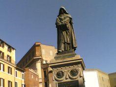 Monumento a Giordano Bruno, a Campo de' Fiori